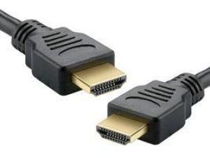 CABO HDMI 3 METROS 1.4 EMBORRACHADO PRETO GC