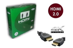 CABO HDMI 50 METROS 2.0 EMBORRACHADO PRETO ALL TECH