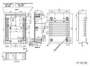 CAIXA PLASTICA PATOLA CF125 PRETA
