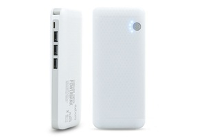 CARREGADOR POWER BANK C/ LANTERNA 3 X USB 10000 MAH PB-MX10