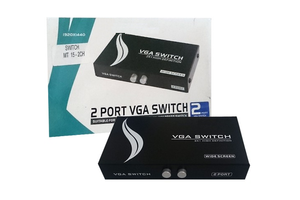 CHAVEADOR SWITCH VGA 2 IN X 1 OUT MT152CH WIDE MIGTEC
