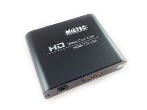 CONVERSOR DE HDMI PARA VGA COM AUDIO DK 002