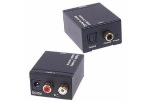CONVERSOR IN OTICO/COAXIAL DIGITAL OUT RCA GEAVES