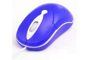 MOUSE USB EXBOM MS-30 AZUL