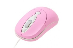 MOUSE USB EXBOM MS-30 ROSA