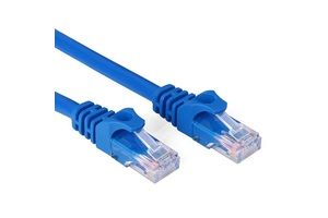 PATCH CORD 3 METROS AZUL CAT 5