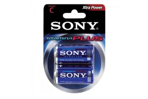 PILHA MEDIA C ALCALINA COM 2 AM2-B2D SONY