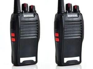 RADIO COMUNICADOR BAOFENG UHF/VHF 5KM COM FONE BF-777S